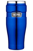 Thermos Thermosbeker King Metalic Blauw