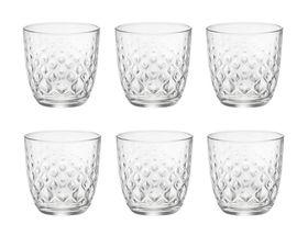 Bormioli Glazen Glit Transparant 29.5 cl - 6 Stuks