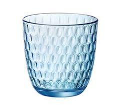 Bormioli Glazen Slot Blauw