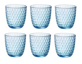 Bormioli Glazen Slot Blauw 29 cl - 6 Stuks