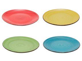 Gekleurde Dinerborden