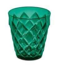 Koziol Glas Crystal S Transparant Groen