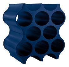 Koziol Wijnrek Stapelbaar Set-Up Blauw