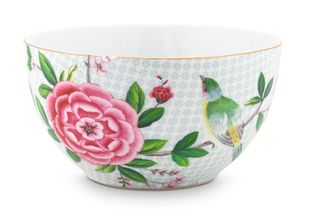 Pip Studio Blushing Birds bowl ø 15cm - wit