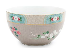 Pip Studio Blushing Birds bowl ø 18cm - khaki