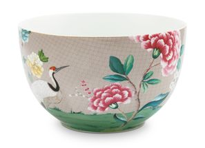 Pip Studio Blushing Birds slaschaal ø 23cm - khaki