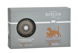 Maison Berger auto diffuser Anti-Odour dierenluchtjes
