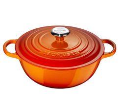 Le Creuset braadpan Marmite oranje-rood Ø 26 cm