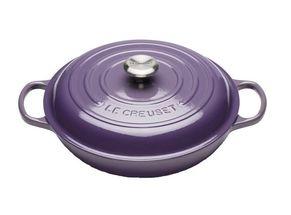 Le Creuset braadpan Campagnard ultra violet Ø 30 cm