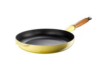 Le Creuset koekenpan Signature geel Ø 24 cm