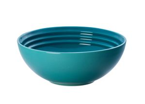 Le Creuset ontbijtkom caraïbisch blauw Ø 16 cm