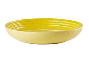Le Creuset diep bord geel Ø 22 cm