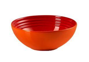 Le Creuset ontbijtkom oranje-rood Ø 16 cm