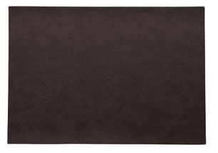ASA Selection Placemat Leer Black Coffee 33 x 46 cm