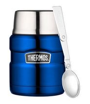 Thermos Voedseldrager King Metallic Blauw