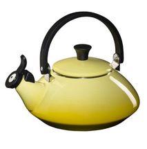 Le Creuset fluitketel Zen geel 1.5 liter