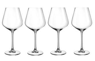 Le Creuset rode wijnglazen 69 cl - 4 stuks