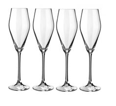 Le Creuset champagneglazen 28 cl - 4 stuks