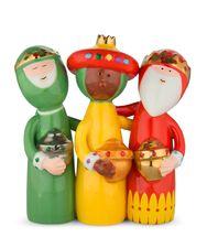 Alessi Kerstfiguren Happy Eternity Baby AGJ01 4 Door Massimo Giacon & Marcello Jori