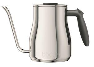 Bodum Waterkoker Bistro Gooseneck Zilver1