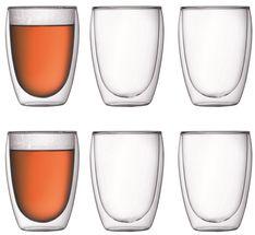 Bodum Dubbelwandige Glazen Pavina 45 cl - 6 stuks