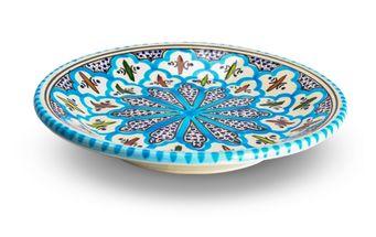 Turquoise_Blue_Fine_dessertbord