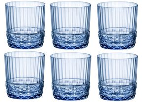 Bormioli Waterglas 370ml Sapphire Blue 6