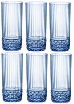 Bormioli Waterglas 490ml Sapphire Blue 6