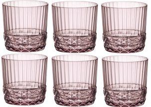 Bormioli Waterglas 370ml Lilac Rose 6