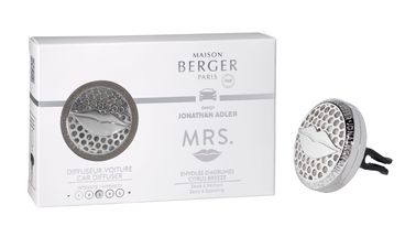 Maison Berger Autoparfumset Jonathan Adler Mrs. Envolée d'Agrumes\