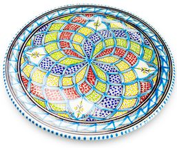 Dishes_Deco_Onderbord_Turquoise_Blue_33_cm