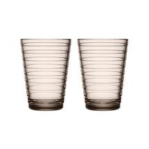 Iittala Aino Aalto glas 33cl - linen - 2 stuks