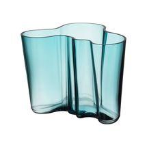 Iittala Alvar Aalto vaas 160mm - zeeblauw