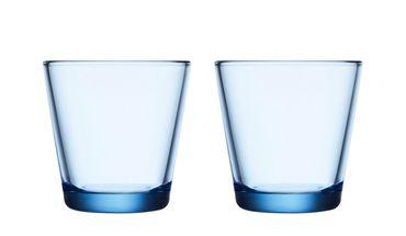 Iittala Kartio glas 21cl aqua - 2 stuks