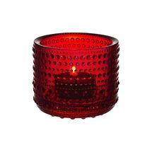 Iittala Kastehelmi sfeerlicht - cranberry rood