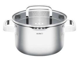 Sola Kookpan Met Deksel Juvia 5.5 Liter