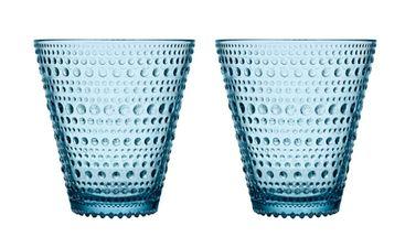 Iittala Kastehelmi glas 30cl lichtblauw - 2 stuks