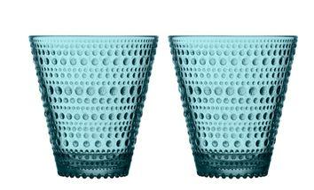Iittala Kastehelmi glas 30cl zeeblauw - 2 stuks
