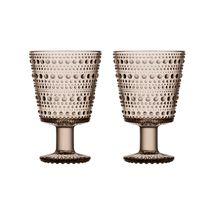 Iittala Kastehelmi glas 26cl - linen - 2 stuks
