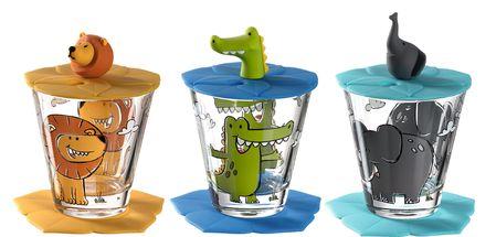 Leonardo Drinkbekerset Bambini 3 Stuks 215 ml