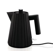 Alessi Waterkoker Plissé Zwart - 1 Liter