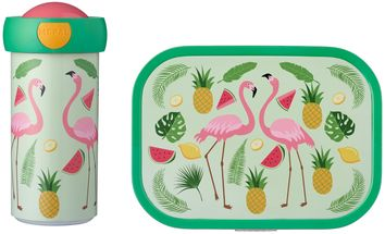 Mepal_Lunchset_Tropical_Flamingo
