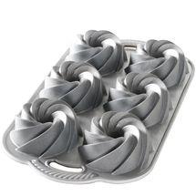 Nordic Ware Bakvorm Heritage Bundtlette Zilver