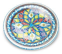 Dishes_Deco_Ontbijtbord_Turquoise_Blue_24_cm