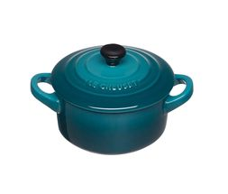 Le Creuset mini braadpan Signature deep teal