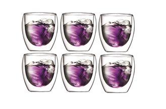 Bodum Dubbelwandige Glazen Pavina 25 cl - 6 Stuks