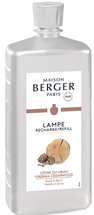 Lampe Berger navulling Virginia Cedarwood 1 liter