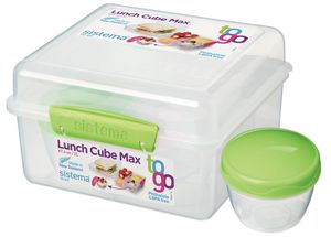 Sistema-Lunchbox-To-Go-Cube-Groen