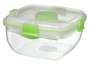 Sistema Saladebox To Go Groen Met Bestek