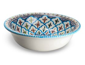 Dishes_Deco_Saladeschaal_Turquoise_Blue_Fine_25_cm1